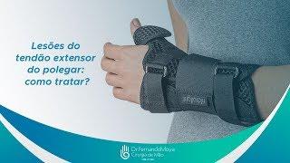 Lesão no tendão do pulso como curar uma
