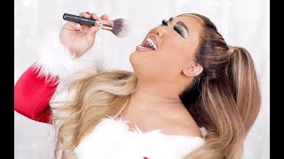 ARIANA GRANDE HOLIDAY MAKEUP TRANSFORMATION | PatrickStarrr