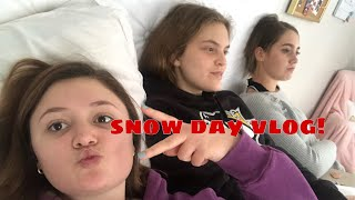 Snow day vlog!