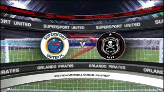 Absa Premiership 2017/18 | SuperSport United vs Orlando Pirates