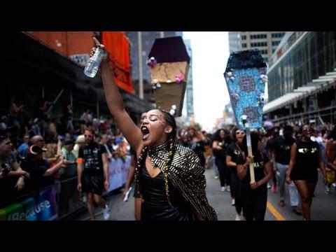 Black Lives Matter interrupts Toronto Pride Parade