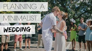 MINIMALIST WEDDING PLANNING
