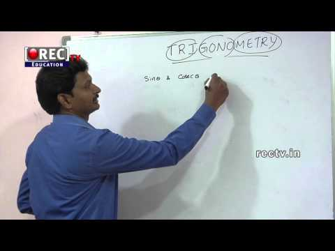 10th CLASS MATHEMATICS CLASSES - BASICS OF TRIGONOMETRY PART 1 - SSC, CBSE, ICSE STUDY MATERIAL