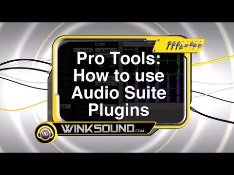 Pro Tools: How To Use Audio Suite Plugins | WinkSound