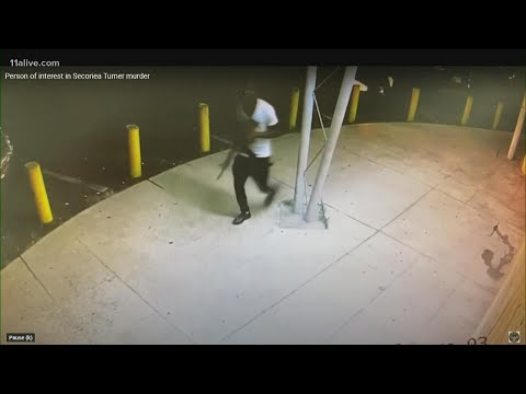 Police release video clip showing person of interest in Secoriea Turner's murder case