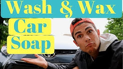How To Wash and Wax Your Car In One Step!