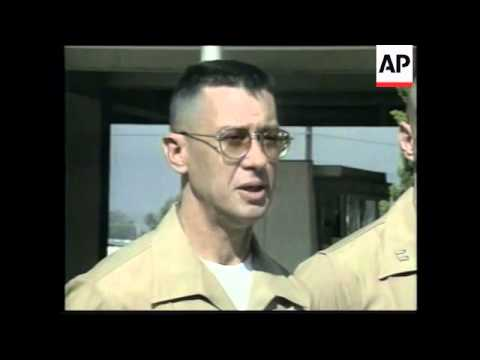 USA: MARINE CORPS DESERTER IS COURT MARTIALLED