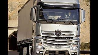 Мегазаводы  Грузовики Мерседес(Познакомьтесь с новой версией грузовиков Mercedes