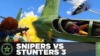 Let's Play: GTA V - Snipers VS Stunters 3