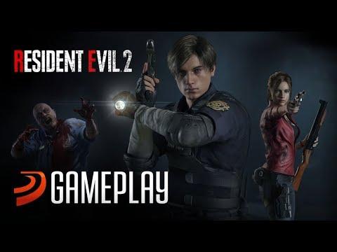 4 Horas Con Resident Evil 2 Remake. Gameplay Comentado