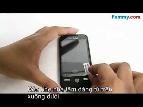 Hướng dẫn dán tấm dáng màn hình cảm ứng trên điện thoại