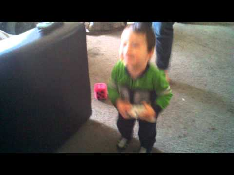 Ethan Dancing to big jet plane adam g remix