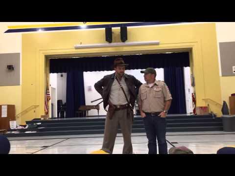 Indiana Jones Whip Demo