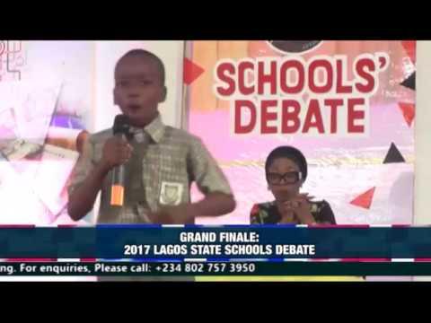 GRAND FINALE: 2017 LAGOS STATE SCHOOLS DEBATE