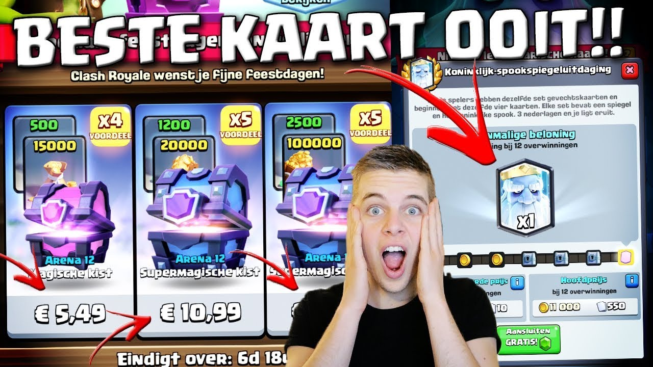 dit is de beste kaart ooit in clash royale nederlands