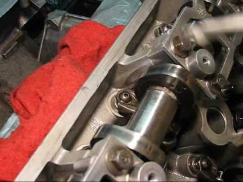 How to easily install  remove 46L DOHC rocker arms - YouTube