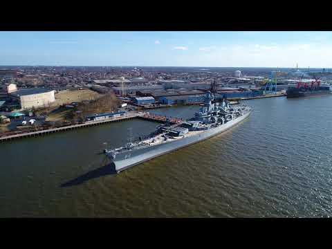 Battleship New Jersey - Camden Waterfront