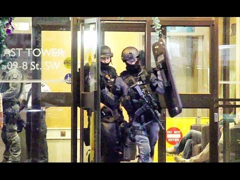 High risk tactical unit with M4's