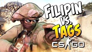 CS:GO -  �������� ����! (Filipin vs. Tags)