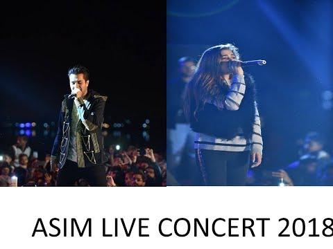 ASIM AZHAR live Concert Karachi Eat festival 14th Jan 2018