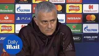 Mourinho: 'stay at home and watch it on TV if you feel pressure'