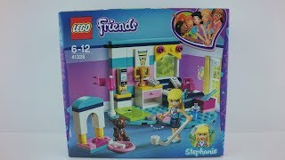 41328 LEGO® Friends Set Stephanie´s Bedroom Unboxing 4K by Brickmanuals