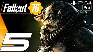 FALLOUT 76 - Gameplay Walkthrough Part 5 - Flavors of Mayhem (Full Game) PS4 PRO