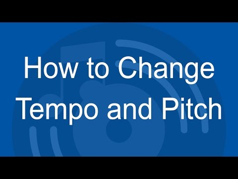 How to Change Tempo and Pitch of a Music in DJ Music Mixer
