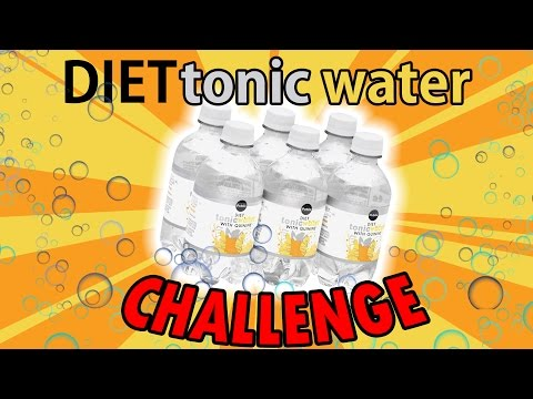 Diet Tonic Water Challenge | L.A. BEAST Challenge