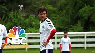 """Erick """"Cubo"""" Torres lleva tatuado el escudo de Chivas"""