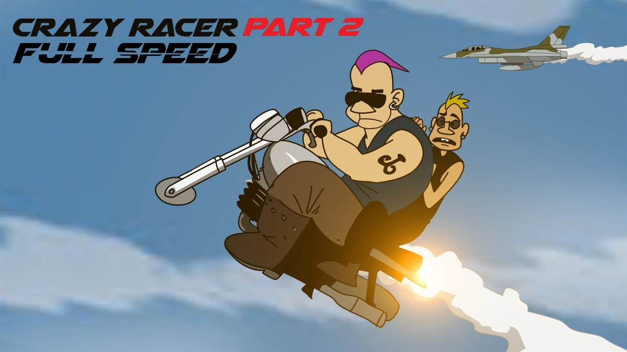 Crazy Racer Part 2 Full Speed - Funny Cartoon