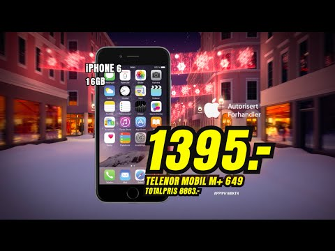 iphone 6 skal telenor
