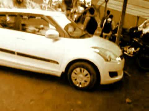 Dancing Car Swift ! Variety people..Hahaa