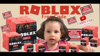 Roblox Toys SERIES 6 Blind Boxes + Code Items UNBOXING / FREE CODE