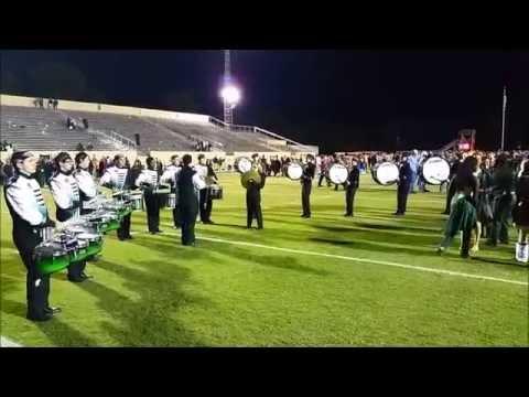 Mosley High School Drum line 2014