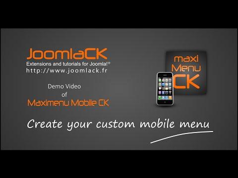 Create Your Custom Megamenu Mobile