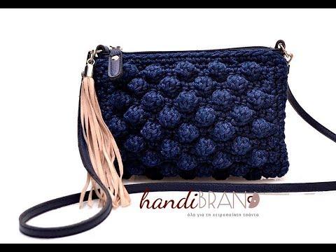 5b6a7790de3 Τσαντάκια Zipper Full Crochet - YouTube