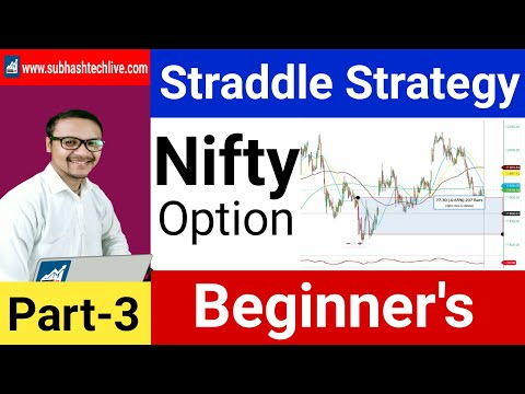 Straddle Strategy | Option Chain Beginners Part3 | Best Option Strategy.