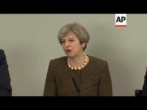 UK PM May on Brexit: