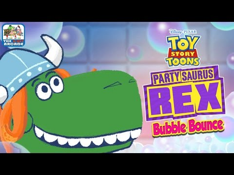 Toy Story Toons - PartySaurus Rex: Bubble Bounce - Throw An Epic Party (Gameplay)