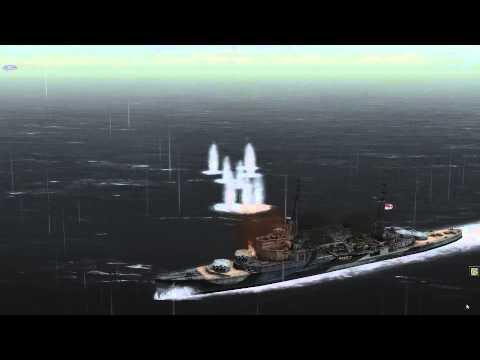 Atlantic Fleet: Battle of the Atlantic 3: Cruiser action in the Denmark Strait