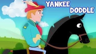 янки каракули отправился в город мультфильмы для детей Yankee Doddle Kids ABC TV Russia