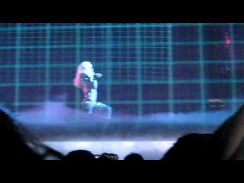 Dance in the Dark  Lady Gaga  @ Montreal Bell Centre  Monster Ball Tour 2009