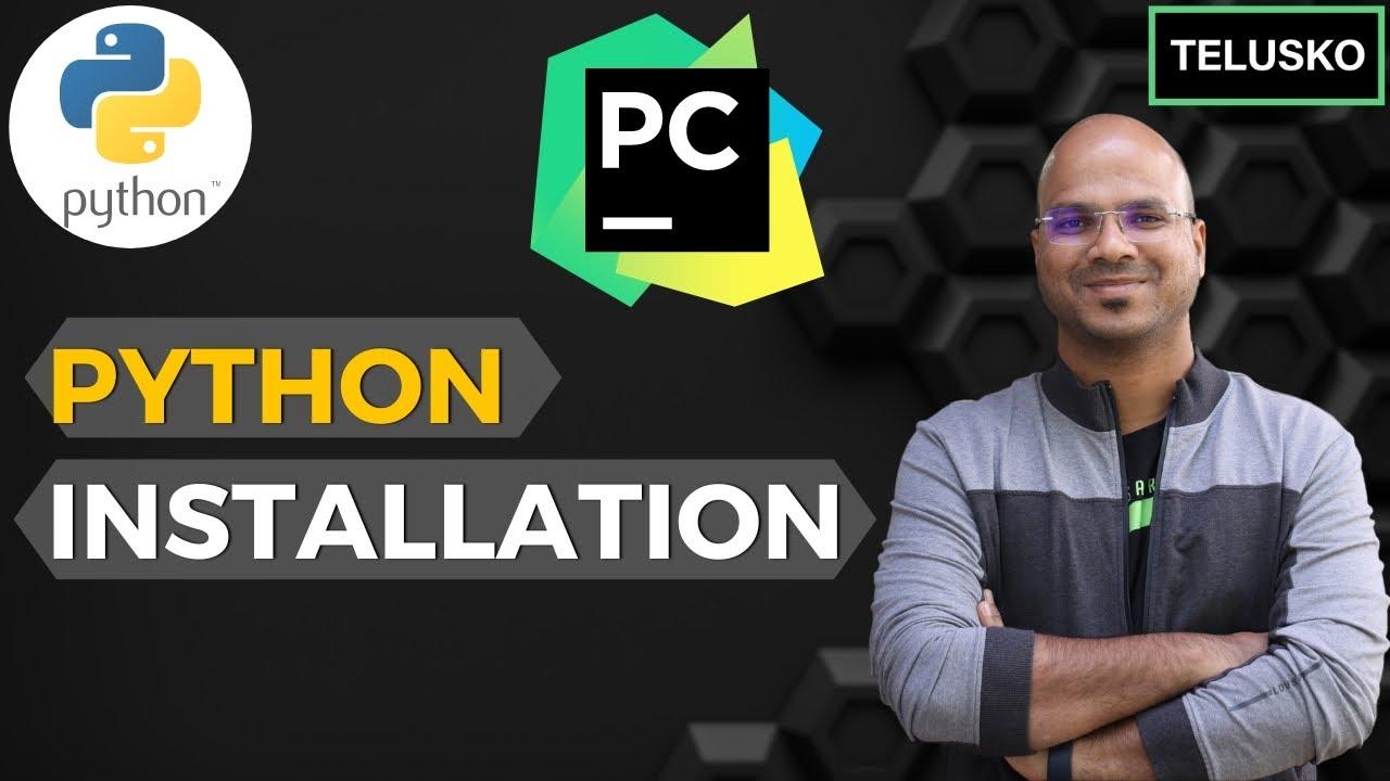 #2 Python Tutorial for Beginners | Python Installation | PyCharm