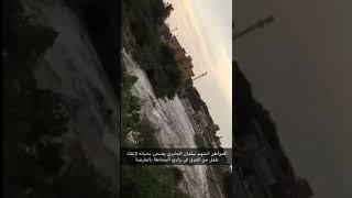 بالفيديو.. مواطن ينقذ طفلًا من الغرق في الوادي بعد جريان السيل - صحيفة صدى الالكترونية