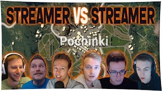 PUBG - Streamer Vs Streamer (chocoTaco, Ibiza, Recrent, Halifax,..) | HIGHLIGHTS