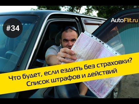 Что будет, если ездить без страховки? Список штрафов и действий