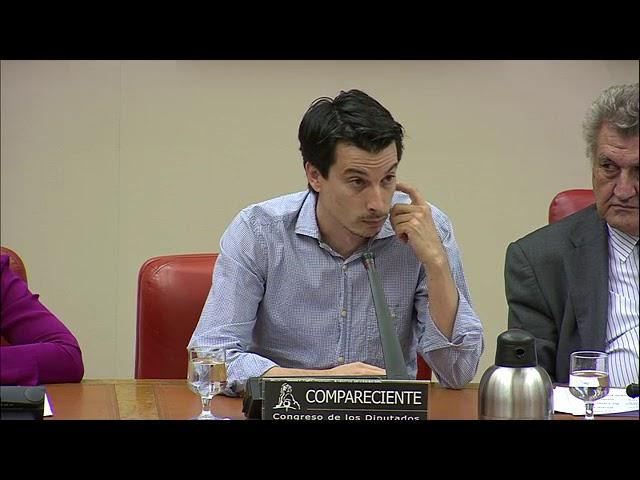 Luis Gonzalo Segura en la Comisión Constitucional