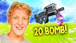 TFUE GETS 22 KILLS WITH HIS NEW KEYBINDS - FORTNITE BEST TFUE MOMENTS