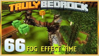 Truly Bedrock S1E66 Fog Effect Base Grinding | Minecraft Bedrock Edition SMP, MCPE, MCBE
